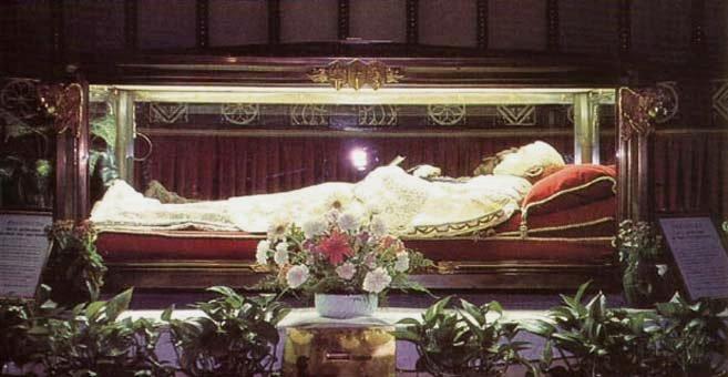 St Luigi Orione's Incorrup Body